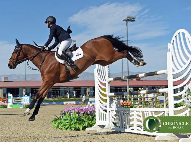 Porter Blazes To AIG $1 Million Grand Prix Win At HITS Coachella