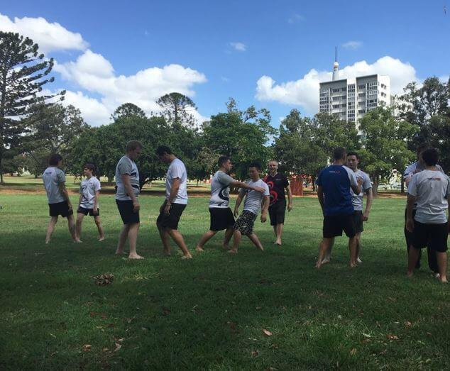 IWKA Brisbane Kung Fu Session in the Park.JPG
