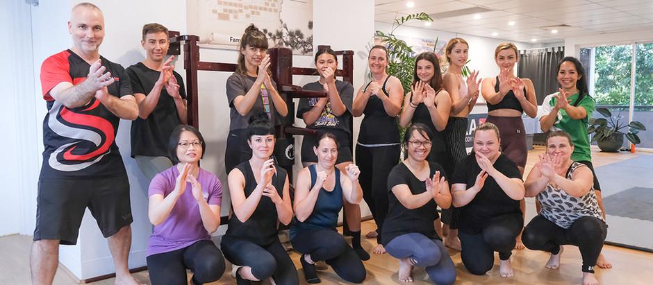 Brisbane Ladies Kicking It At Women's-Only Self-Defence Workshop
