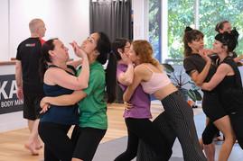 Women's Self Defence Practice Brisbane