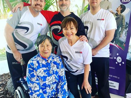 IWKA Taiji (Tai Chi) Demo at Living Well Expo Brisbane 2019