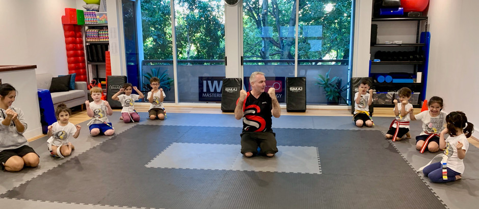 Martial Arts for kids in Brisbane (4-5 years old)