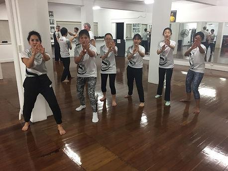 IWKA Kung Fu women