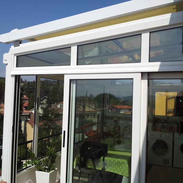veranda taglio termico