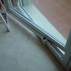 porta bilico alluminio taglio termico