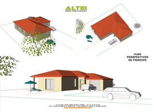 Projet maison de plain-pied