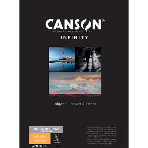 Canson Infinity BFK Rives Pure White