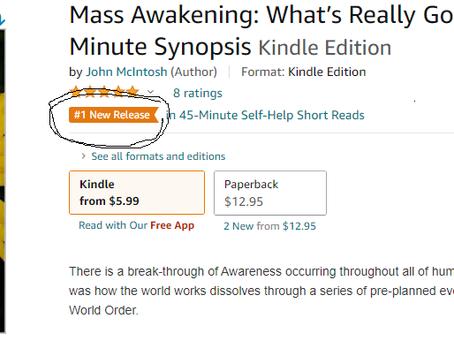 "AMAZON BOOK REVIEW - ""MASS AWAKENING"" - by John McIntosh #1 on Amazon"
