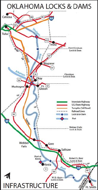 industrialtrust Port of Muskogee Access
