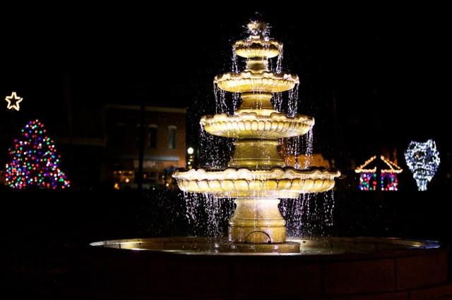 New Wartrace Fountain