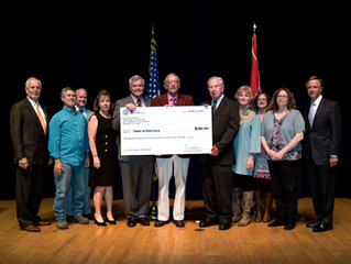 Wartrace awarded $298,750 grant