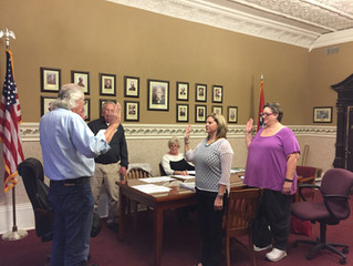 Aldermen take oath of office