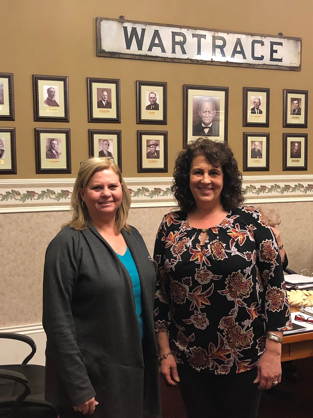 Mayor Vickie Smith and Alderman Cindy Drake
