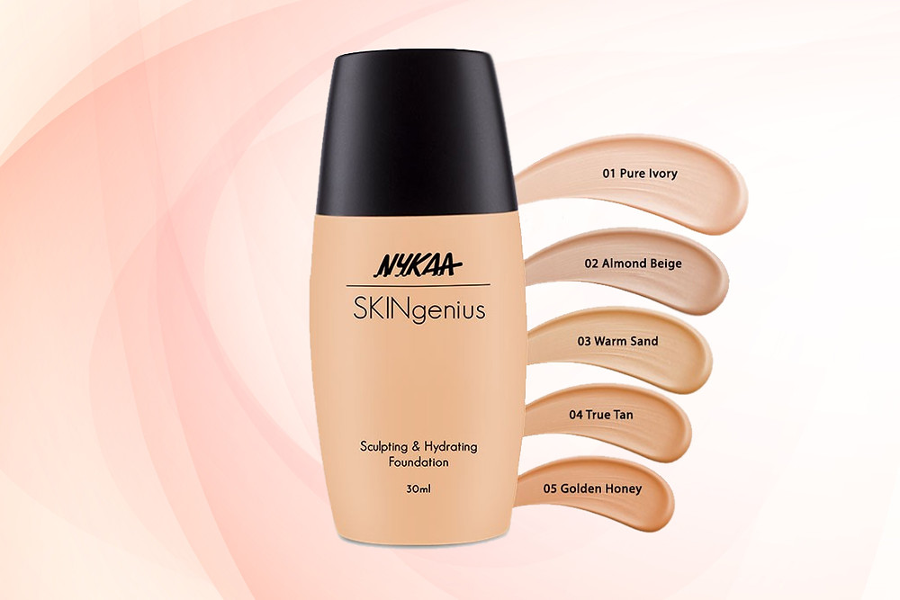 BEST PRODUCTS OF NYKAA|Nykaa SKINgenius Sculpting & Hydrating Foundation