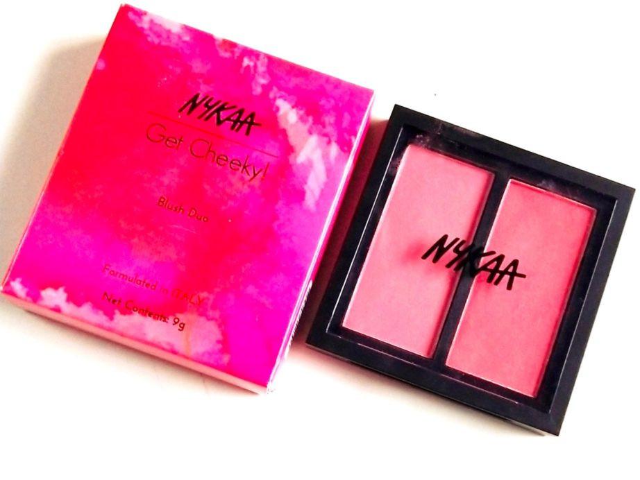 Nykaa Get Cheeky! Blush Duo palette - Malibu Barbie