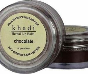 Lip Balm and Lip care | Khadi Naturals Chocolate Herbal Lip Balm with Beeswax and Honey