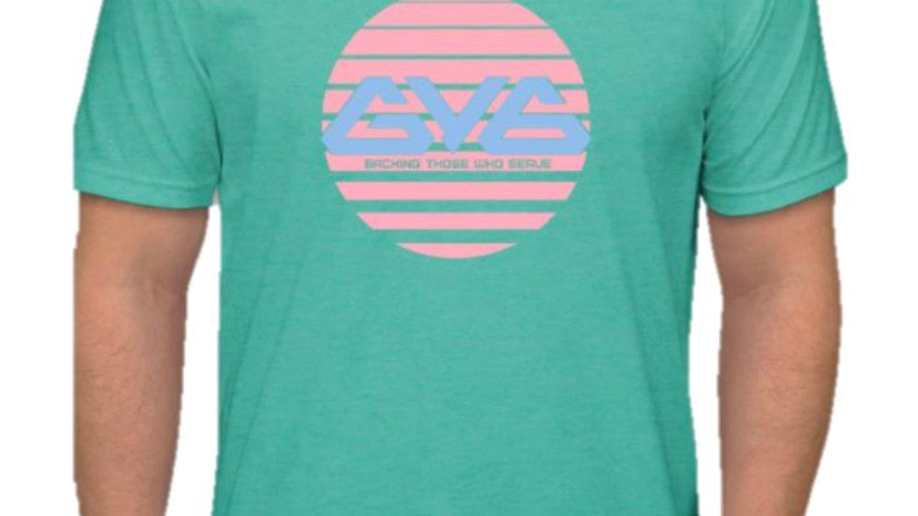 Men's Summer Tee - Tahiti Blue