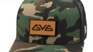 Curved Bill GY6 Branded Bills Trucker Hat - Camo