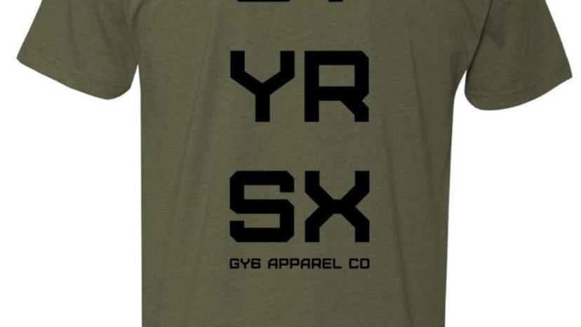 GTYRSX Tee Military Green