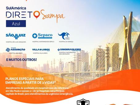 Você já Conhece o Plano de Saúde SulAmérica Direto Sampa?