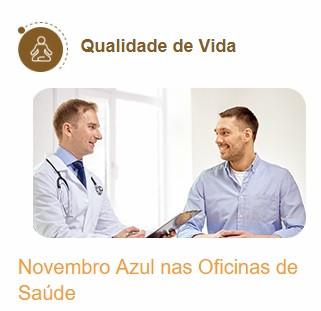 novembro azul, oficinas de saúde, gndi, intermédica, notredame, plano de saúde, unionseg, corretora de seguros