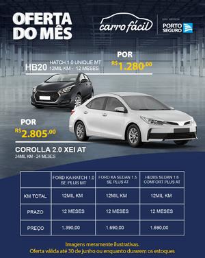 Porto Seguro Carro Fácil em Promoção no mês de junho