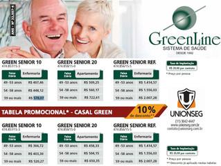 Promoção no Plano de Saúde GreenLine Sênior