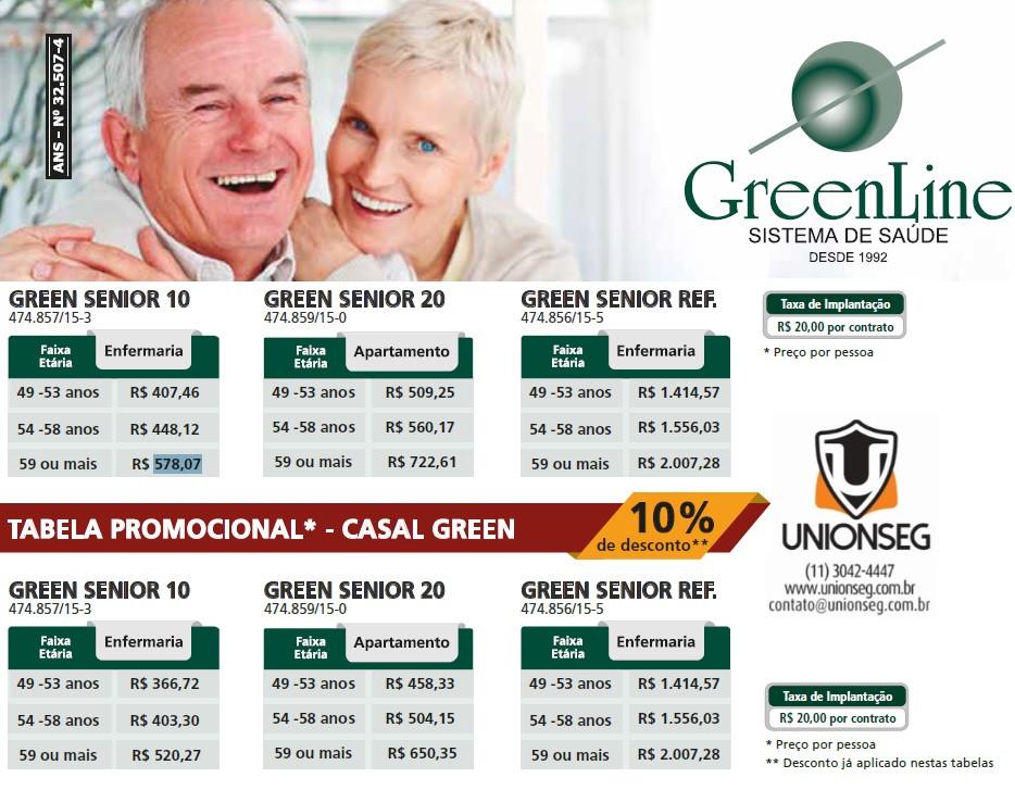 Greenline Senior, Plano de Saúde Greenline Senior, Plano de Saúde para Terceira Idade, Plano de Saúde para Melhor Idade, Plano de Saúde Senior, Unionseg, Corretor de Seguros