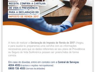 SulAmérica Lança Cartinha de Vida e Previdência Para Declaração de Imposto de Renda