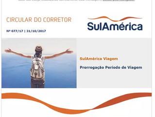 SulAmérica Viagem - Prorrogação Período de Viagem