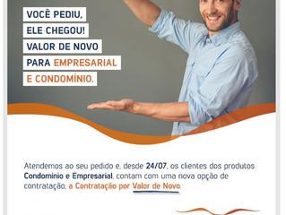 Novidades no SulAmérica Seguro Empresarial e Condomínio