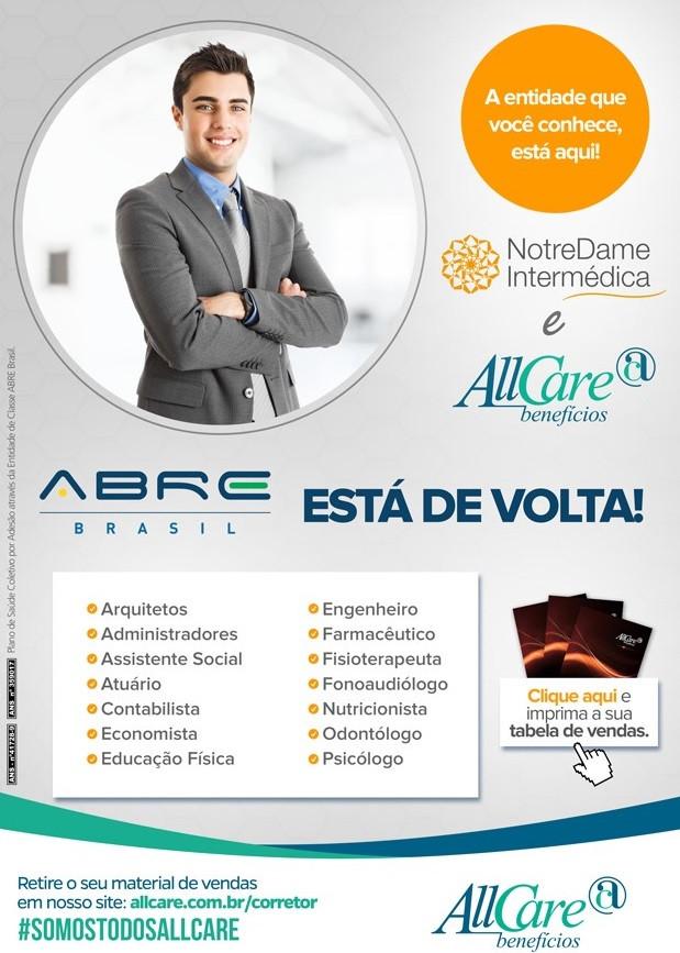 plano de saúde por adesão, abre brasil, allcare, plano de saúde para profissionais liberais, unionseg, corretora de seguros