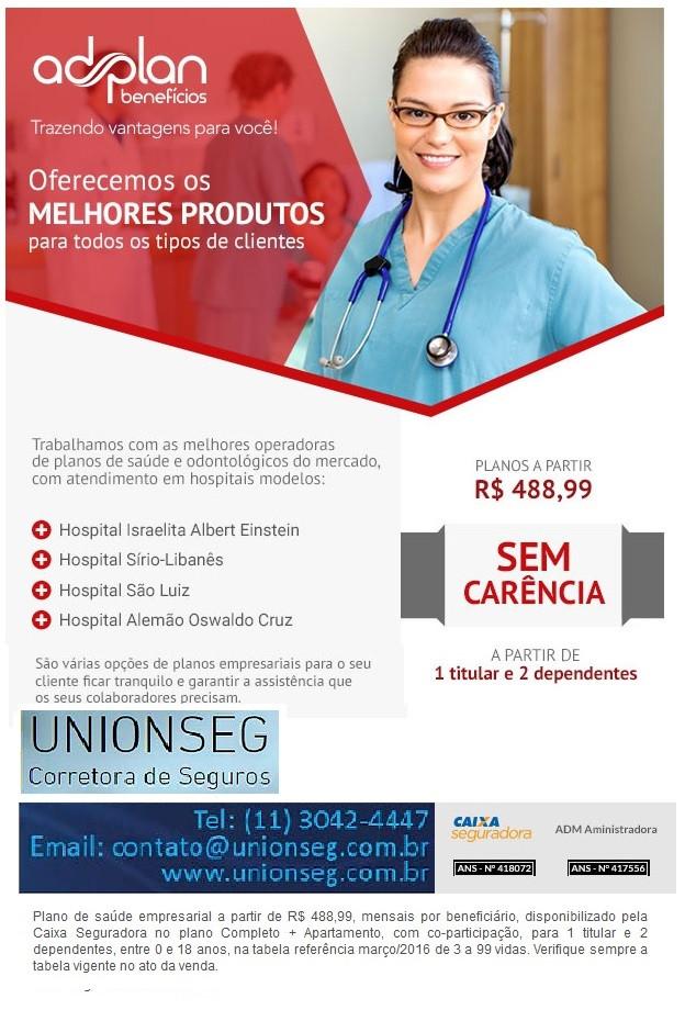 plano de saúde, plano de saúde empresarial, plano de saúde pme, convênio médico, corretora de seguros, unionseg