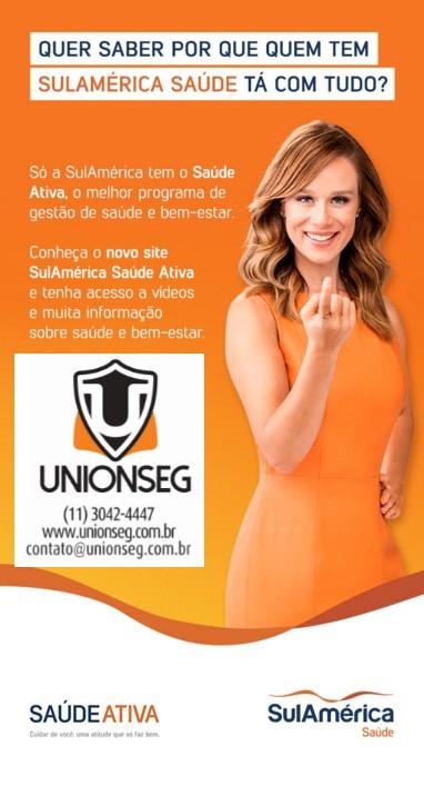 sulamérica saúde, sulamérica saúde ativa, plano de saúde, plano de saúde pme, plano de saúde empresarial, plano de saúde por adesão, unionseg, corretora de seguros