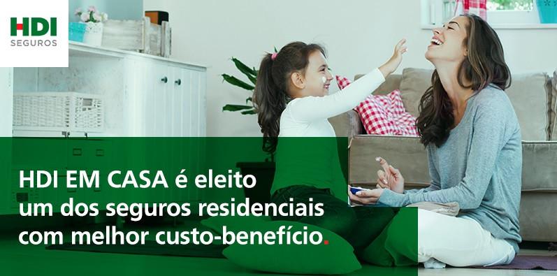 HDI EM CASA, seguro residencial