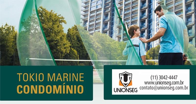 Tokio Marine Condomínio, Seguro de Condomínio, Condomínio, Tokio Marine, Seguro, Unionseg, Corretora de Seguros