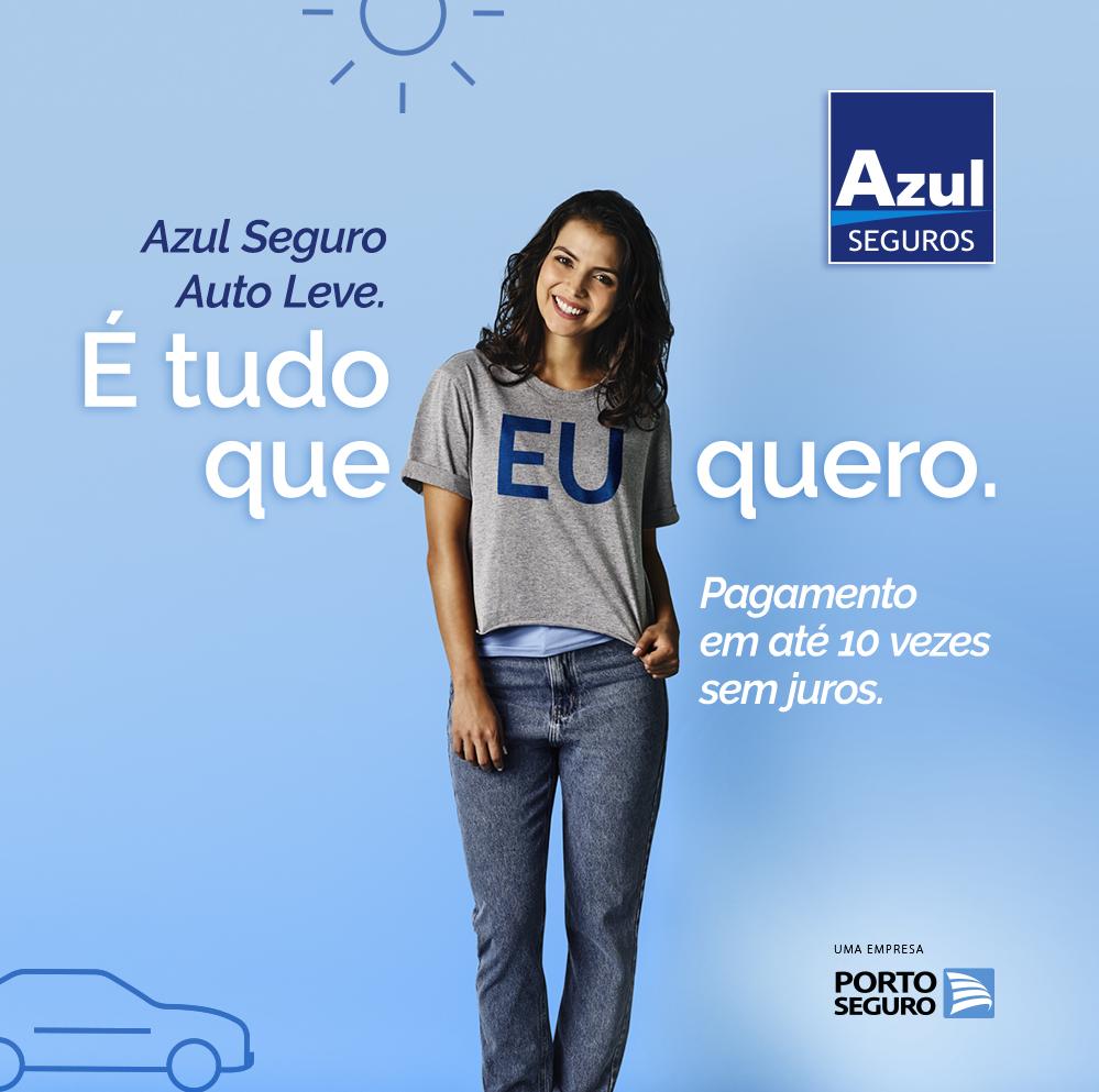 Azul Seguro Auto Leve, Unionseg Corretora de Seguros