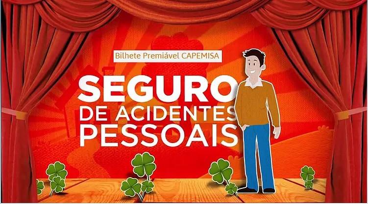 Capemisa, bilhete premiável, seguro de vida, acidentes pessoais, app, unionseg, corretora de seguros, terceira idade, melhor idade