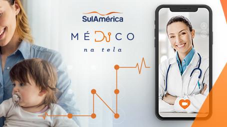 Consulta Online? Na SulAmérica tem Médico na Tela!