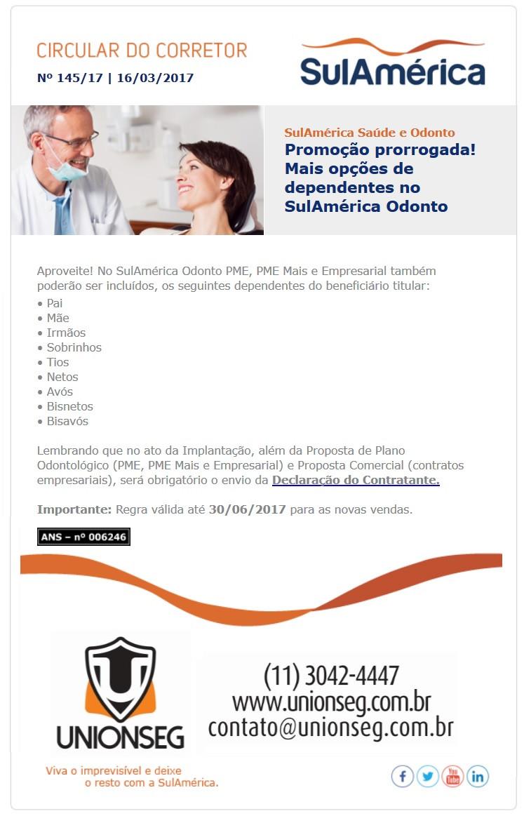 SulAmérica Odonto, SulAmérica, Plano Odontológico, Seguro Odontológico, Odonto PME, Odonto Empresarial, Unionseg, Corretor de Seguros