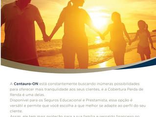 COBERTURA PERDA DE RENDA DA CENTAURO-ON