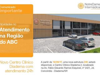 Novo Centro Clinico NotreDame Intermédica no ABC