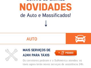 SulAmérca Auto para Taxi, agora mais completo!