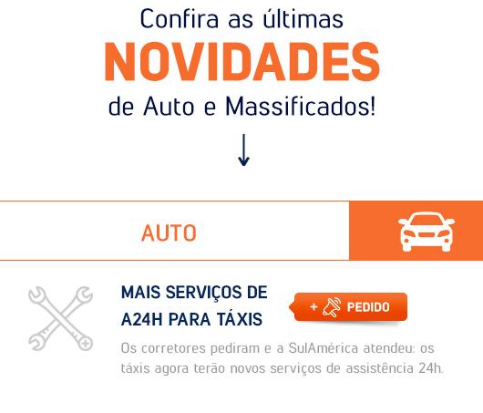 SulAmérica Auto Taxi com novidades
