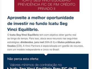Icatu está com Promoção da Previdência Privada