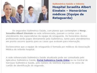 SulAmérica Saúde e Odonto - Hospital Israelita Albert Einstein
