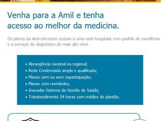 Amil Saúde PME - Tenha Acesso ao Melhor da Medicina