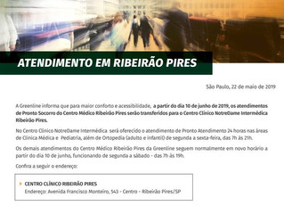 Greenline com Novo Atendimento em Ribeirão Pires