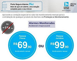 Monitoramento de Alarme, Alarme Monitorado, Porto Seguro alarme, Uninoseg, Alarme, Corretora de Seguros, monitoramento barato, melhor alarme