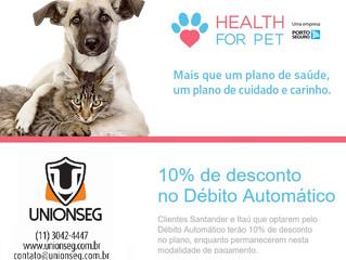 Health For Pet - Mais que um Plano de Saúde, um Plano de Cuidados e Carinho